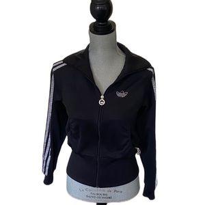 Adidas Crystal Embellished Track Jacket